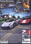 Test Drive Unlimited PlayStation 2 Back Cover
