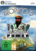 Tropico 3: Absolute Power Windows Front Cover