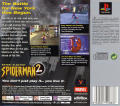 Spider-Man 2: Enter: Electro PlayStation Back Cover