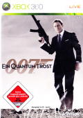 007: Quantum of Solace Xbox 360 Front Cover