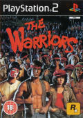 The Warriors PlayStation 2 Front Cover