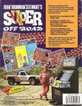 Ivan 'Ironman' Stewart's Super Off Road DOS Back Cover