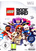 LEGO Rock Band Wii Front Cover