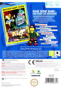 LEGO Rock Band Wii Back Cover