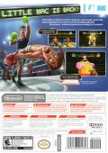 Punch-Out!! Wii Other Keep Case - Back Cover