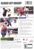 NHL 2004 Xbox Back Cover