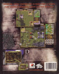 Warlords III: Reign of Heroes Windows Back Cover