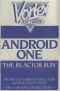 Android One: The Reactor Run ZX Spectrum Front Cover