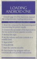 Android One: The Reactor Run ZX Spectrum Inside Cover