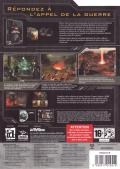 Enemy Territory: Quake Wars (Limited Collector's Edition) Windows Back Cover