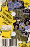 Monte Carlo Casino ZX Spectrum Back Cover