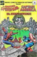 The Amazing Spider-Man and Captain America in Dr. Doom's Revenge! DOS Other Comic Cover
