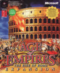 Age of Empires: The Rise of Rome Windows Front Cover