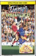 Jimmy's Soccer Manager ZX Spectrum Front Cover