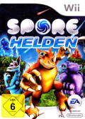 Spore Hero Wii Front Cover