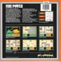 Fire Power DOS Back Cover