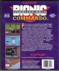 Bionic Commando DOS Back Cover