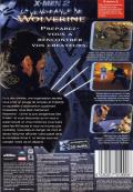 X2: Wolverine's Revenge Windows Back Cover