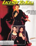 007: Licence to Kill DOS Front Cover