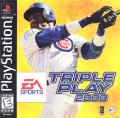 Triple Play 2000 PlayStation Front Cover