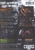 Beat Down: Fists of Vengeance Xbox Back Cover