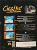 Cisco Heat: All American Police Car Race Amiga Back Cover
