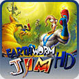 Earthworm Jim HD PlayStation 3 Front Cover