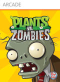 Plants vs. Zombies Xbox 360 Front Cover