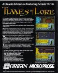 Times of Lore ZX Spectrum Back Cover