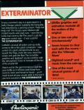 Exterminator ZX Spectrum Back Cover