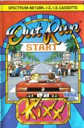 OutRun ZX Spectrum Front Cover
