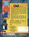 Toobin' ZX Spectrum Back Cover