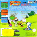 Snoopy Tennis Game Boy Color Back Cover