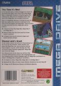 Mega Man: The Wily Wars Genesis Back Cover