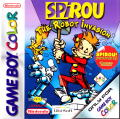 Spirou: The Robot Invasion Game Boy Color Front Cover