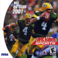 NFL QB Club 2001 Dreamcast Front Cover