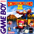 Donkey Kong Land III Game Boy Front Cover