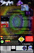 Swagman SEGA Saturn Back Cover