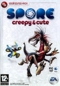 Spore: Creepy & Cute Parts Pack Macintosh Front Cover