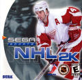 NHL 2K Dreamcast Front Cover