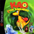Kao the Kangaroo Dreamcast Front Cover