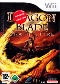 Dragon Blade: Wrath of Fire Wii Front Cover