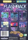 Flashback: The Quest for Identity Genesis Back Cover