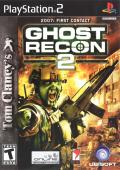 Tom Clancy's Ghost Recon 2: 2007: First Contact PlayStation 2 Front Cover
