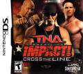 TNA iMPACT! Cross the Line Nintendo DS Front Cover