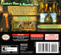 Professor Layton and the Unwound Future Nintendo DS Back Cover