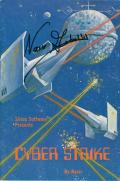 Cyber Strike Apple II Front Cover Cover signed by Nasir Gebelli
