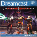 Quake III: Arena Dreamcast Front Cover