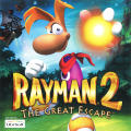 Rayman 2: The Great Escape Dreamcast Front Cover