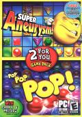 2 For You Game Pack: Super Aneurysm! / Pop Pop Pop! Windows Front Cover